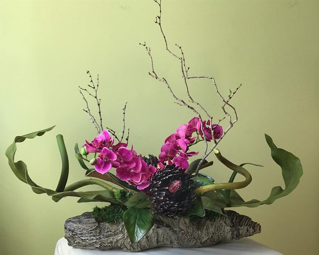 Orchid certerpiece