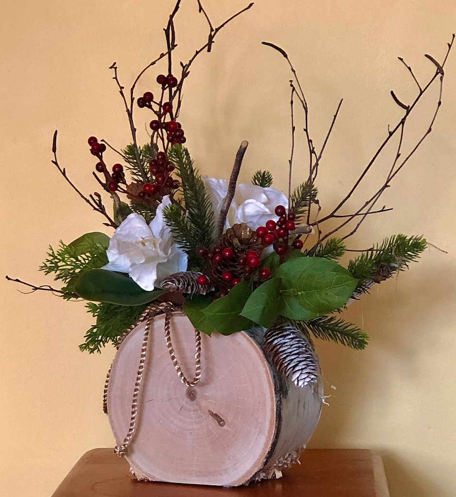 Rustic and Elegant Arrangement Sold